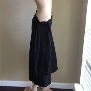 Patagonia Black Skirt with tie waist